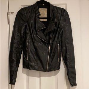Zara Trafaluc Faux leather jacket